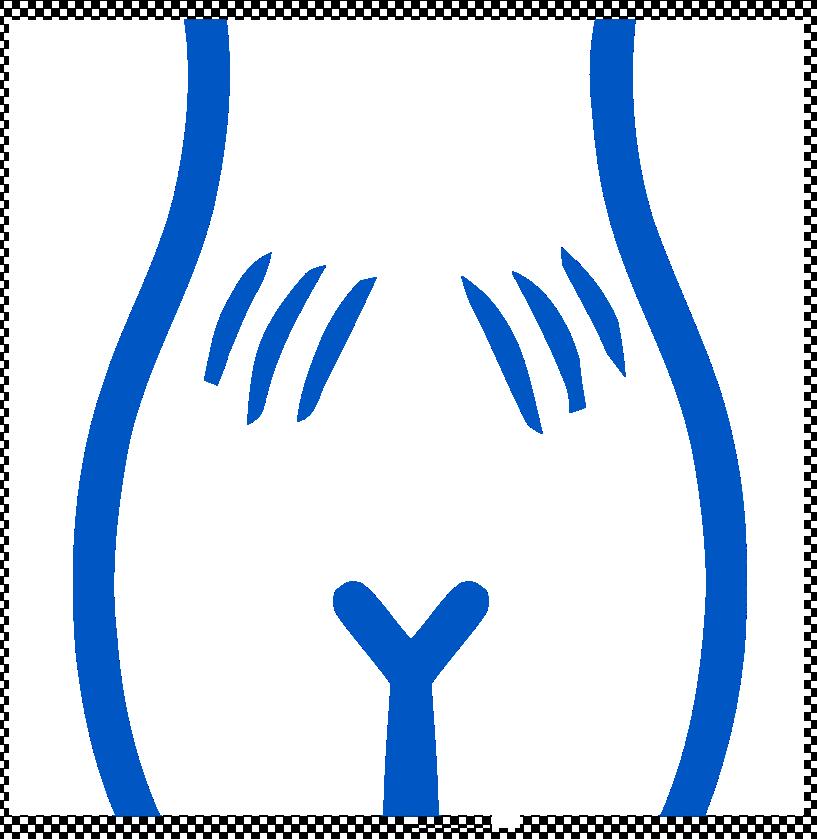 Ikona rozstępu mięśnia prostego brzucha