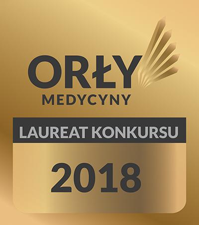 Logo orły medycyny 2018