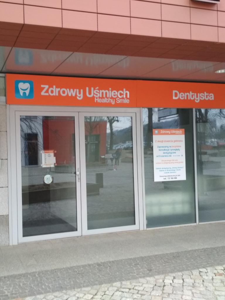 Zdjęcie wejścia do gabinetu