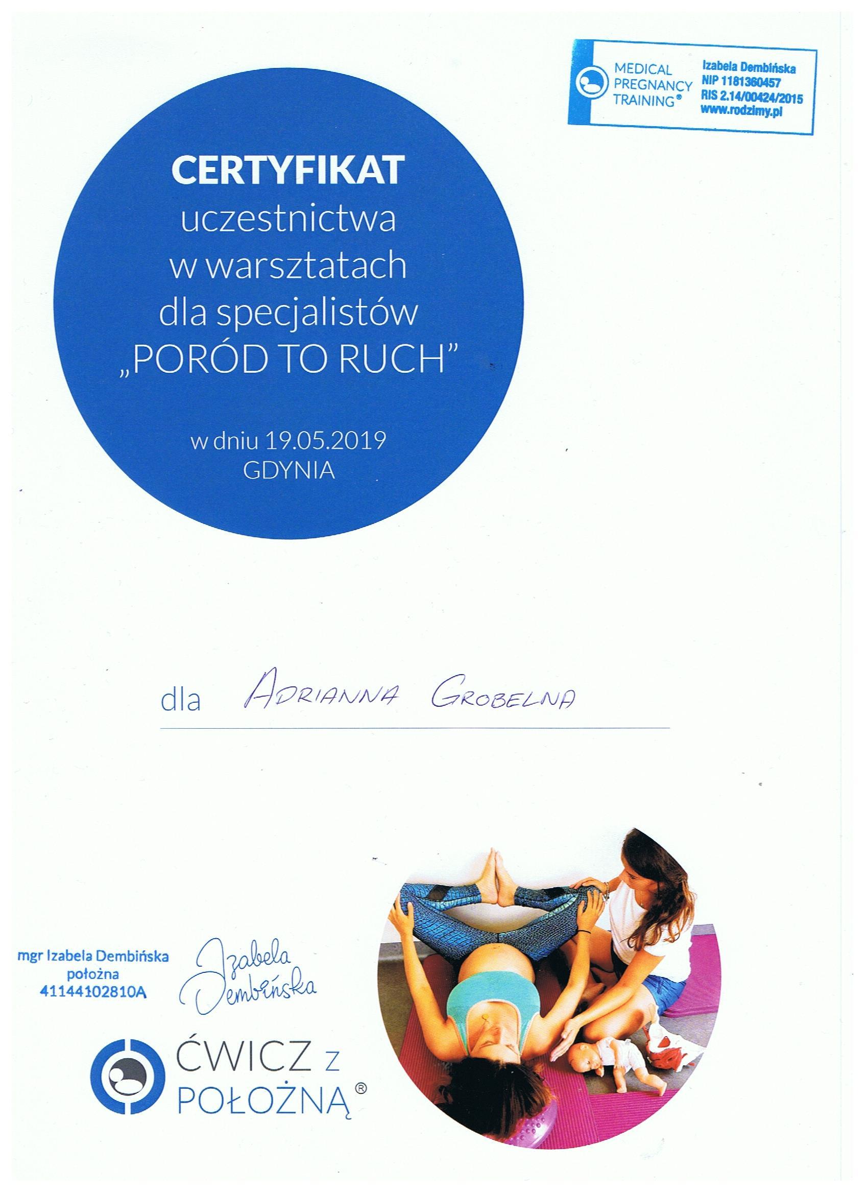 Scan certyfikatu